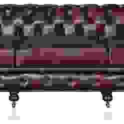 Leather Chesterfield Sofa Locus Habitat Living roomSofas & armchairs