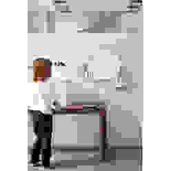 Crown electric towel warmer MG12 BagnoTessuti & Accessori Alluminio / Zinco Bianco