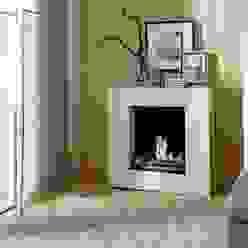 LINEA Ethanolkamin Kamin-Design GmbH & Co KG WohnzimmerKamin und Zubehör MDF Weiß
