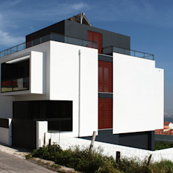 HOUSE L911 Casas modernas: Ideas, imágenes y decoración de Estúdio AMATAM Moderno