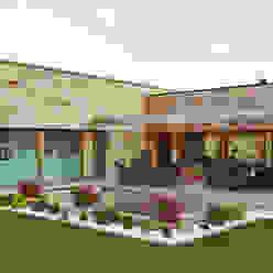 Casas de estilo  por HUGA ARQUITECTOS,