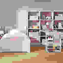 Dormitorio infantil de niña de Sofás Camas Cruces Moderno