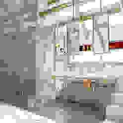 Loft bathroom Casas de banho modernas por homify Moderno