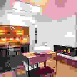 Einfamilienhaus schulz.rooms Moderne Badezimmer
