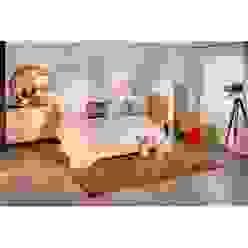 Muebles plata mate:  de estilo industrial de Muebles la toskana, Industrial