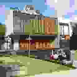 Residencia en Valle Real, arquitectos OFAA Grupo Boes Casas modernas