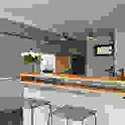 Küche: modern  von Bau-Fritz GmbH & Co. KG,Modern