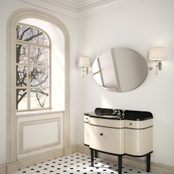 MUSIC VANITY por Devon&Devon UK Moderno