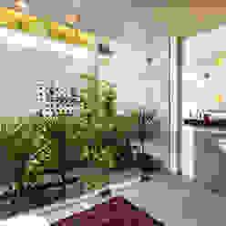 G Farm House Kumar Moorthy & Associates Eclectic style bathroom