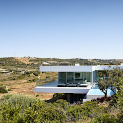Villa Escarpa, Praia da Luz, Portugal Moderne Häuser von Philip Kistner Fotografie Modern