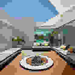 Villa Escarpa, Praia da Luz, Portugal Moderner Balkon, Veranda & Terrasse von Philip Kistner Fotografie Modern