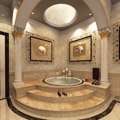 BATHROOMS FOR PRIVATE CLIENT TOPOS+PARTNERS Classic style bathroom