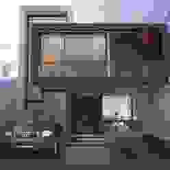 FACHADA PRINCIPAL Casas modernas de Xome Arquitectos Moderno