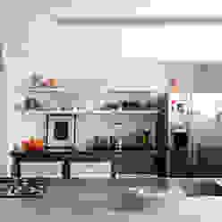 ANTONIO CARLOS RESIDENCE Mauricio Arruda Design Cocinas de estilo ecléctico