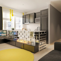 1-Zimmerwohnung: modern  von Decor Club,Modern