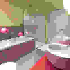 Studio Projektowe Projektive Moderne Badezimmer