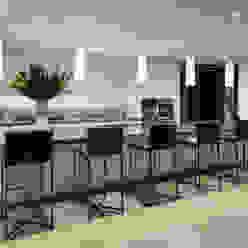 SUNSET STRIP RESIDENCE Moderne Küchen von McClean Design Modern