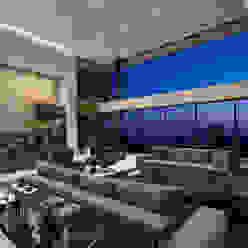 SUNSET STRIP RESIDENCE Moderne Wohnzimmer von McClean Design Modern