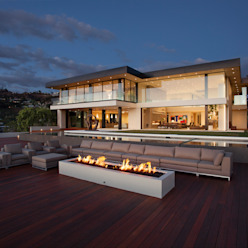 SUNSET STRIP RESIDENCE McClean Design Casas modernas