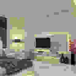 Master Bedroom Modern style bedroom by K Mewada Interior Designer Modern