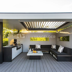 Wellness garden Barendrecht ERIK VAN GELDER | Devoted to Garden Design Jardines de estilo moderno