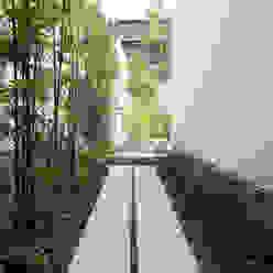 Sakurayama-Architect-Design Jardines modernos: Ideas, imágenes y decoración