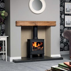 ACR Malvern DEFRA Approved Wood Burning / Multi Fuel Stove Direct Stoves Living roomFireplaces & accessories