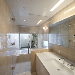 Modern Bathroom by Atelier Square Modern