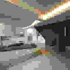 The Gables Moderne Wohnzimmer von Patalab Architecture Modern