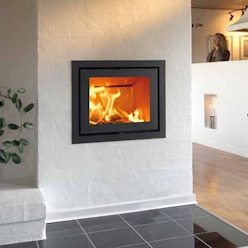 Heta Classic Inset Wood Burning Stove Direct Stoves Living roomFireplaces & accessories