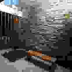 ZAAV Arquitetura Jardines de invierno minimalistas
