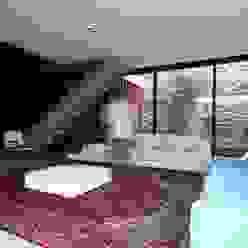 ZAAV Arquitetura Salones minimalistas