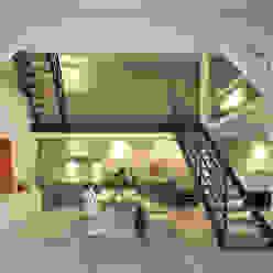Umbau und Sanierung eines Fachhallenhauses Minimalistische Esszimmer von BUB architekten bda Minimalistisch