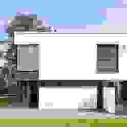 Klare Struktur Moderne Häuser von Beck+Blüm-Beck Architekten Modern