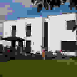 Familienhaus Minimalistische Häuser von waldorfplan architekten Minimalistisch
