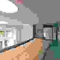 schlafplatz 3rdskin architecture gmbh KinderzimmerBetten und Krippen
