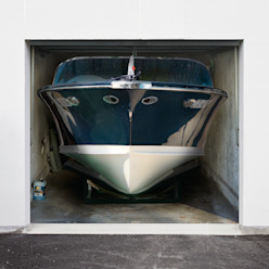 """Garagenplane """"Boot"""" Style-Your-Garage.com Garage/Schuppen"""