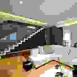 Minimalist living room by SANSON ARCHITETTI Minimalist