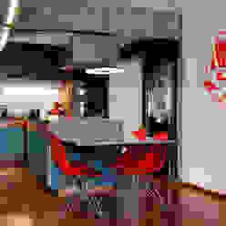 Mínima arquitetura e urbanismo Кухня в стиле модерн