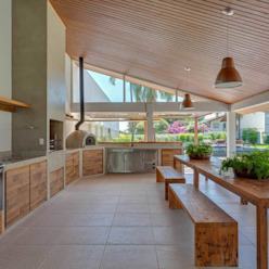 Lazer em Atibaia Nautilo Arquitetura & Gerenciamento Piscinas modernas