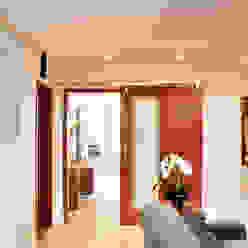 ArchDesign STUDIO Pasillos, vestíbulos y escaleras rústicos