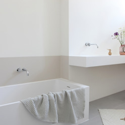 Minimalist bathroom by Not Only White B.V. Minimalist