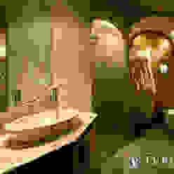 CHALET turco home srl Bagno in stile rustico