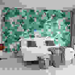 Lily Pond Skandynawskie ściany i podłogi od homify Skandynawski