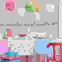 Rosa-roter Mädchentraum diewohnblogger Wände & BodenWanddekorationen