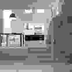 luca bianchi architetto Медиа комната в стиле лофт