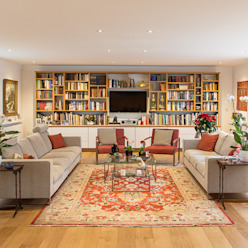 Hawtrey Road, NW3 XUL Architecture Eclectic style living room