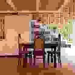 CASA ES 13 CalìArchitetti Sala da pranzo moderna