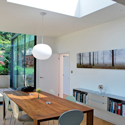 FAMILY HOUSE Extension Comedores modernos de Caseyfierro Architects Moderno