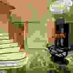 Corredores, halls e escadas ecléticos por BABA MİMARLIK MÜHENDİSLİK Eclético